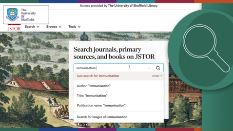 Thumbnail for entry Using JSTOR
