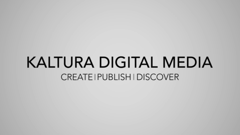 Thumbnail for entry Kaltura Digital Media at The University of Sheffield