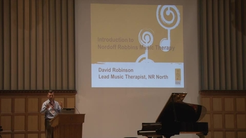 Thumbnail for entry David Robinson - Nordoff Robbins