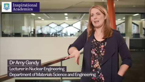 Thumbnail for entry Inspirational Academics: Amy Gandy