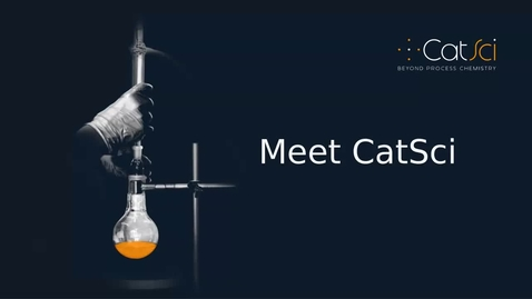 Thumbnail for entry Introducing CatSci - 2021