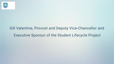 Thumbnail for entry Student Lifecycle Project