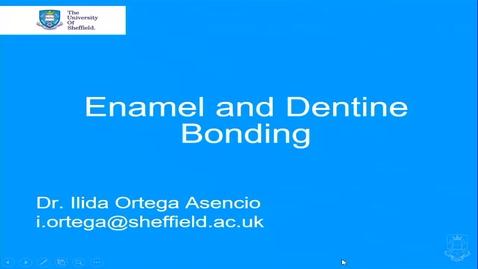 Thumbnail for entry Enamel Bonding - Quiz