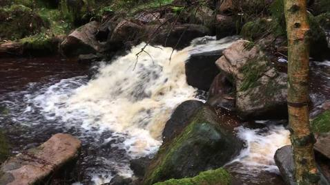 Thumbnail for entry Padley Gorge waterfall 1