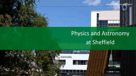 Thumbnail for entry Physics and Astronomy - Applicant Day talk (May 6th)