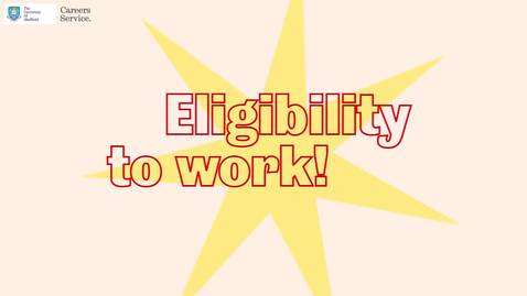 Thumbnail for entry Eligibility to work - myJobshop