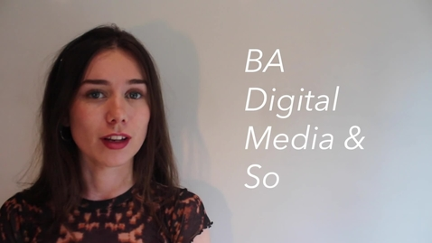 Thumbnail for entry Katy Turnbull - BA (Hons) Digital Media and Society student