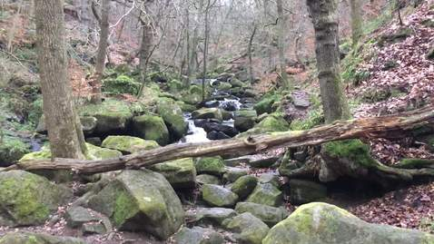 Thumbnail for entry Padley Gorge waterfall 4