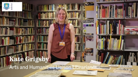 Thumbnail for entry Using Special Collections and Archives for your English Dissertation