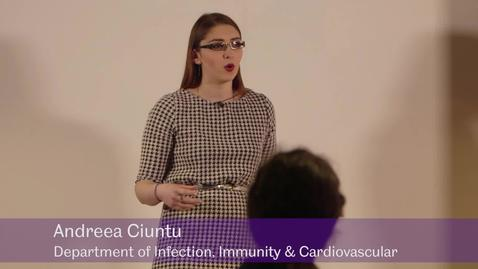 Thumbnail for entry The Path - Andreea Ciuntu, Department of Infection and Immunity and Cardiovascular Disease