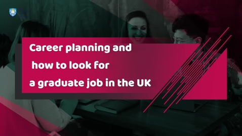Thumbnail for entry Career Planning and looking for a job in the UK