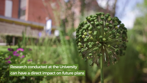 Thumbnail for entry Our Green Campus - Prof Anna Jorgensen
