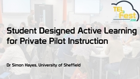 Thumbnail for entry Student Designed Active Learning for Private Pilot Instruction