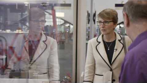 Thumbnail for entry Opening of the Diamond building by first Briton in space - Dr Helen Sharman OBE, alumna of the University of Sheffield