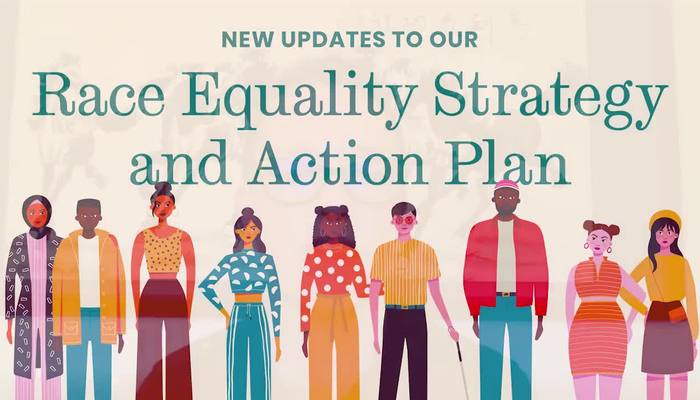 New updates to our Race Equality Strategy and Action Plan