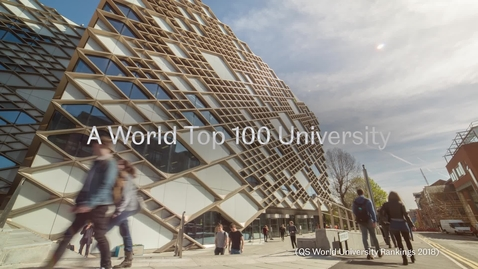 Thumbnail for entry University of Sheffield Student Experience