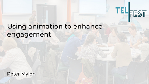 Thumbnail for entry Using animation to enhance engagement