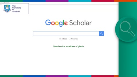Thumbnail for entry Apprentices and Pre-university: Using Google Scholar