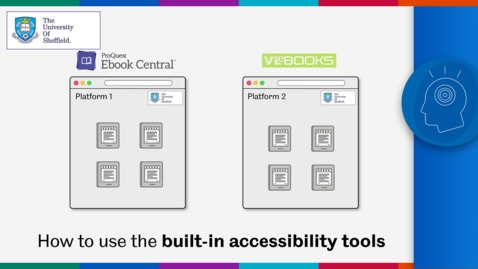 Thumbnail for entry Ebook accessibility tools