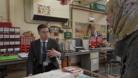 Thumbnail for entry Interview with John Carlin, Headteacher at Penketh High School