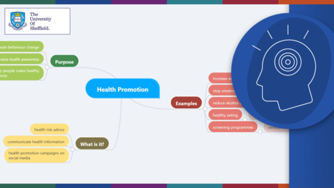 Thumbnail for entry Apprentices and Pre-university: Developing your ideas with mind mapping