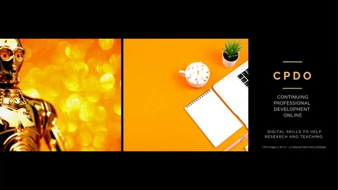Thumbnail for entry C-PDO #3 (Continuing Professional Development Online) - Using Online Polls for Teaching & Conferences