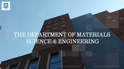 Thumbnail for entry Materials Science and Engineering - Student life in the Department - The Student Life - SUBTITLES
