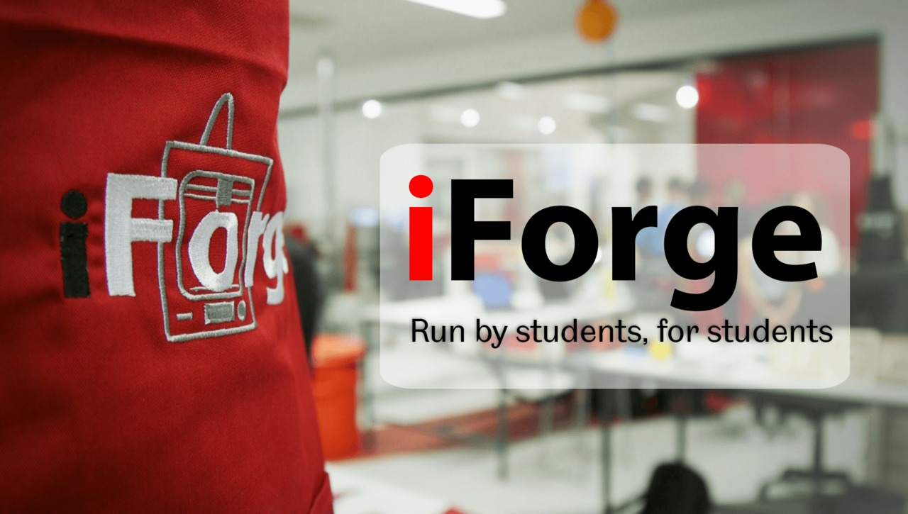 iForge: Run by students, for students