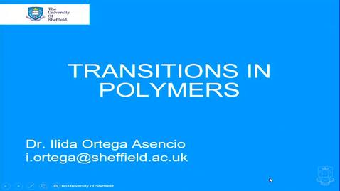 Thumbnail for entry Transitions in Polymers - Quiz