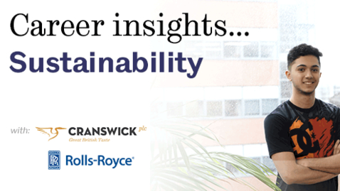 Thumbnail for entry Career Insights: Sustainability