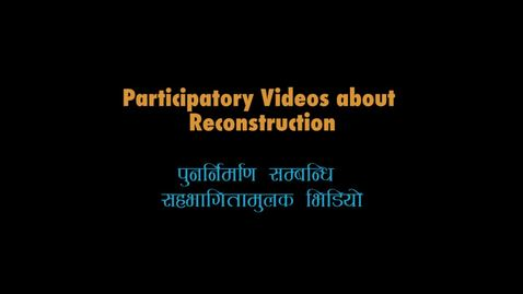 Thumbnail for entry Reconstruction in Hagam, Jalbire and Keraunja: compilation