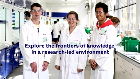 Thumbnail for entry Chemistry - Applicant Day talk