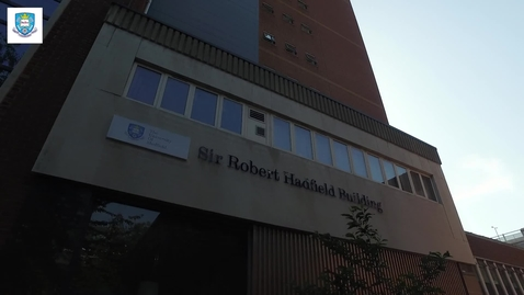 Thumbnail for entry Student life in the Department of Material Science and Engineering - The Hadfield Building