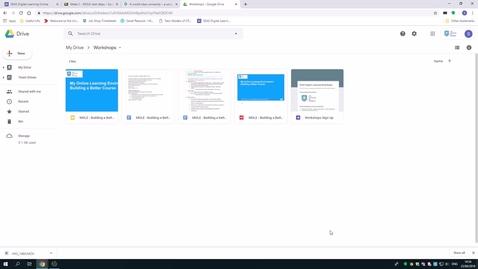 Thumbnail for entry Embed a Google Slide in Blackboard