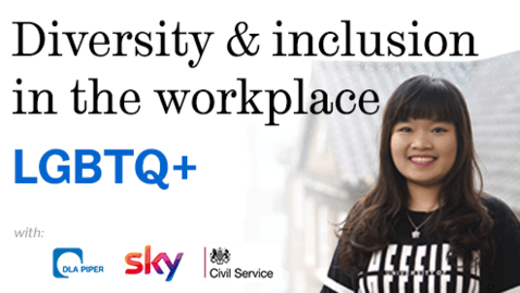 Thumbnail for entry Diversity and inclusion in the workplace: LGBTQ+