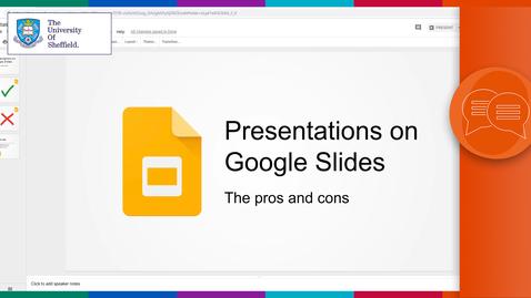 Thumbnail for entry Presentations on Google Slides