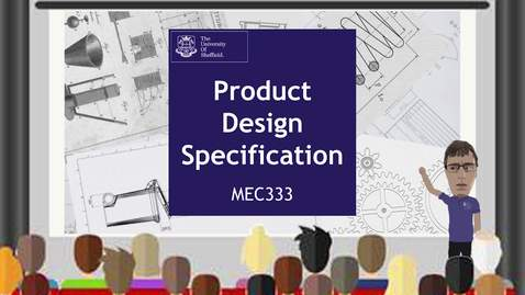 Thumbnail for entry Product Design Specification