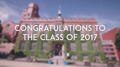Thumbnail for entry Congratulations to the Class of 2017