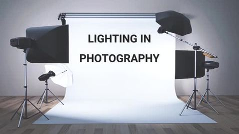 Thumbnail for entry Photography Lighting
