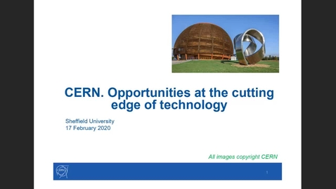 Thumbnail for entry Introducing CERN - 2021