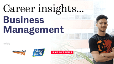 Thumbnail for entry Career Insights: Business Management