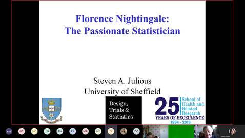 Thumbnail for entry Florence Nightingale: The Passionate Statistician