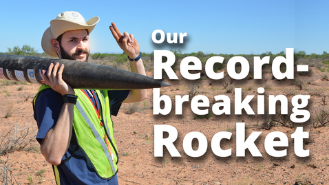 Thumbnail for entry How our rocket broke the UK altitude record | Sheffield Space Initiative