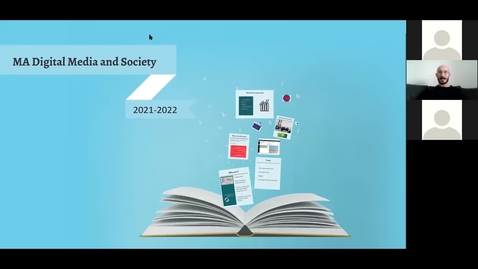 Thumbnail for entry MA Digital Media and Society at The University of Sheffield