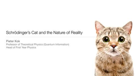 Thumbnail for entry Schrodingers Cat and the Nature of Reality - Physics Undergraduate talk