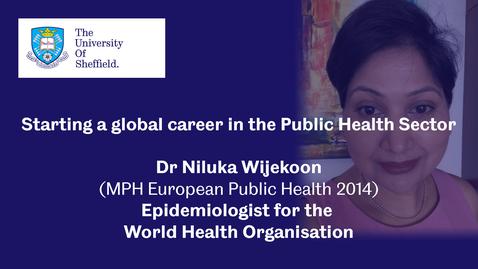 Thumbnail for entry Sheffield Insights - Dr Niluka Wijekoon