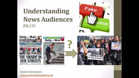Thumbnail for entry Understanding news audiences
