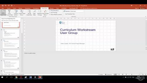 Thumbnail for entry CUR Curriculum Manager Out-of-the-Box Demo (7 May 19)
