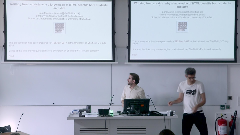 Teaching HTML to Level 1 Maths Students - The University of ...