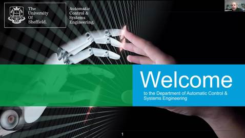 Thumbnail for entry Postgraduate degrees in the Department of Automatic Control & Systems Engineering